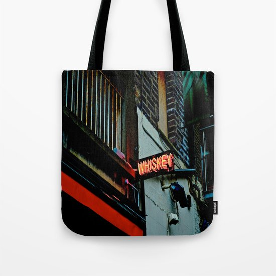 Back Alley Whiskey Tote Bag