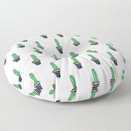 PATTERN II Geometric Cacti Floor Pillow