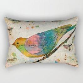 Sing Your Song Rectangular Pillow