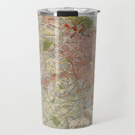 Map Of Buenos Aires 1912 Travel Mug