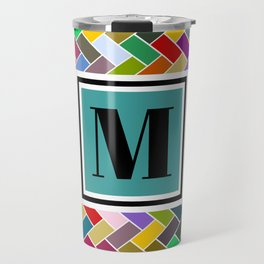 M Monogram Travel Mug