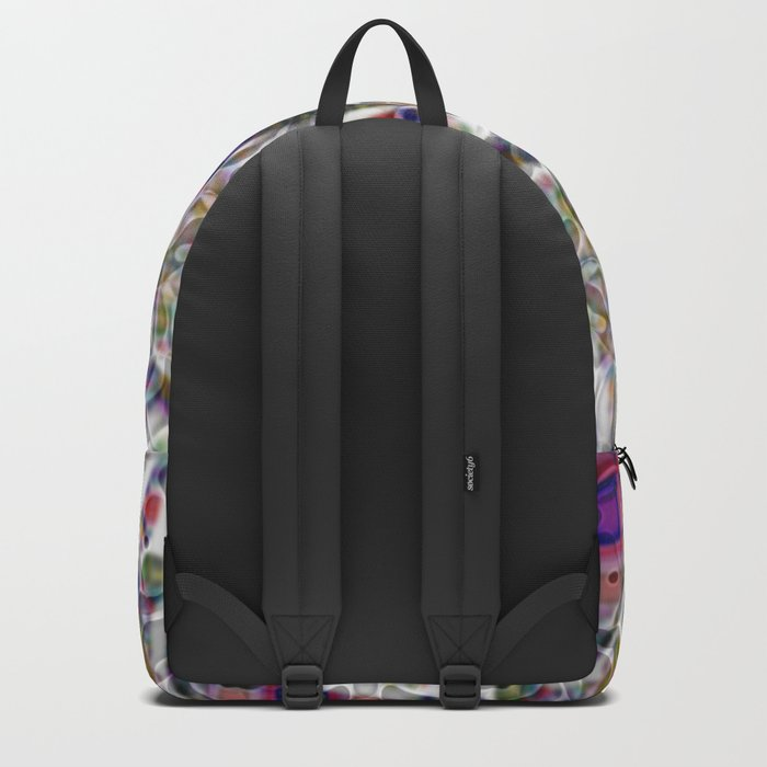 Abstract Paisley Backpack