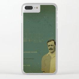 Blackburn - Crompton Clear iPhone Case