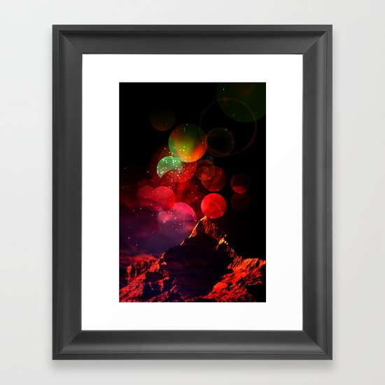 It All Started with a Bang Framed Art Print