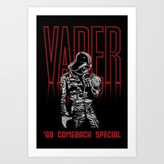 68 Comeback Special Art Print