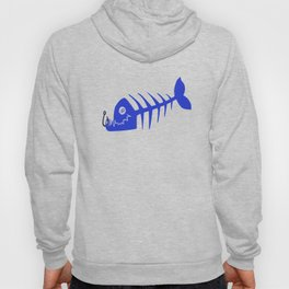 Pirate Bad Fish blue- pezcado Hoody