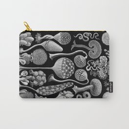 Slime Molds (Mycetozoa) by Ernst Haeckel Carry-All Pouch