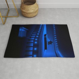 Piano Blues in the Hall of Serenity Rug