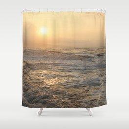 sunset hookipa beach maui hawaii Shower Curtain