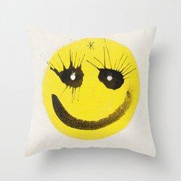 Smile? Throw Pillow