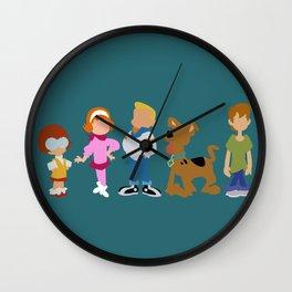 Kid Scooby Do Gang Wall Clock