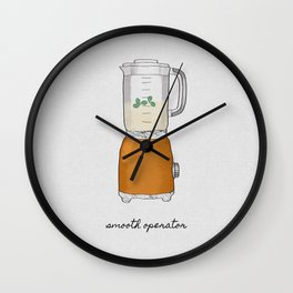 Smooth Operator Wall Clock