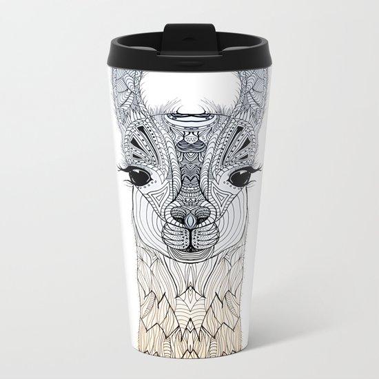 BABY LAMA (CRIA) Metal Travel Mug