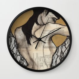 Lace I Wall Clock