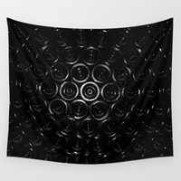 wine Wall Tapestries featuring Wine? by Ian Bevington