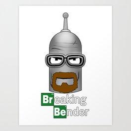 Breaking Benderama Art Print