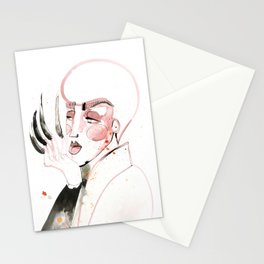 Long Nails in the House of Velour Stationery Cards