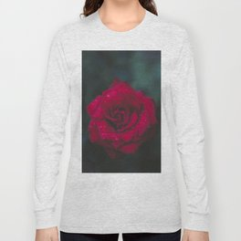 Red Rose x Dewdrops Long Sleeve T-shirt
