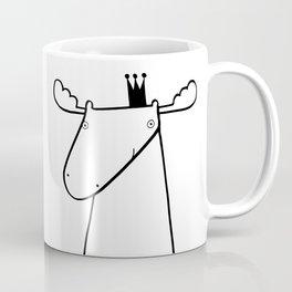 Scandinavian moose Coffee Mug