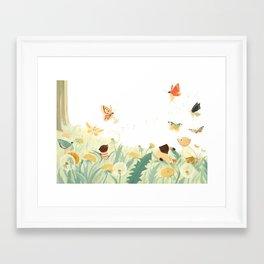 The Butterfly Field by Emily Winfield Martin Framed Art Print