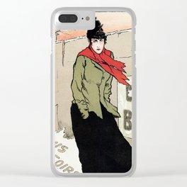 Eugénie Buffet winter Clear iPhone Case