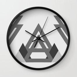 Abstract geometric line design Wall Clock