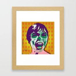 The Scream #9 Framed Art Print