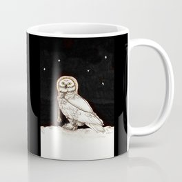 Starry Night Owl Coffee Mug