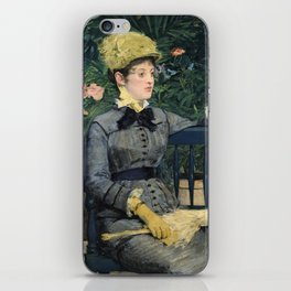 Edouard Manet - In the Conservatory iPhone Skin