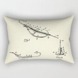 Fishing Lure-1964 Rectangular Pillow