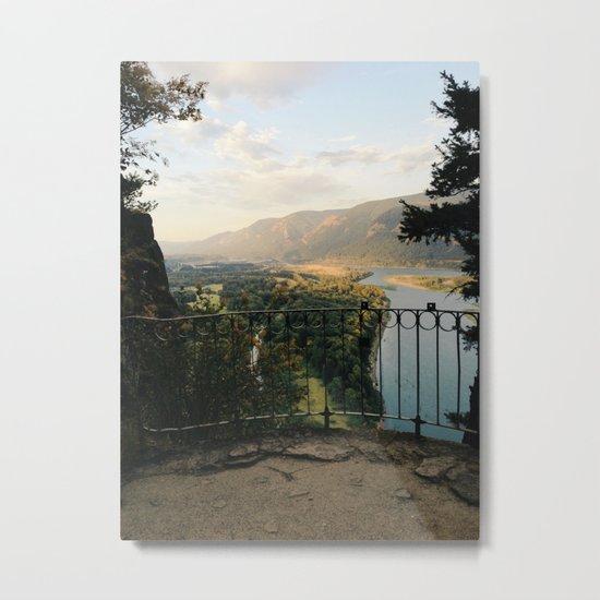 Columbia River Gorge Metal Print