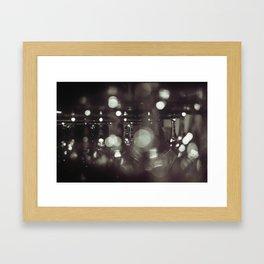 Wineglasses Framed Art Print