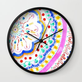 Artsy Fartsy Wall Clock