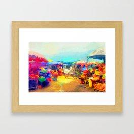 Oja Framed Art Print