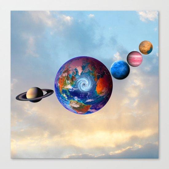 Gaia's friends #society6 Canvas Print