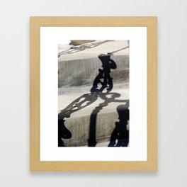 Shadow in Hackney4 Framed Art Print