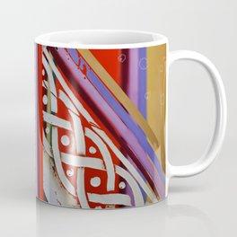 Celtic Knot with Autumn Colors Coffee Mug