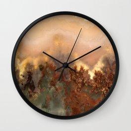 Idaho Gem Stone 16 Wall Clock