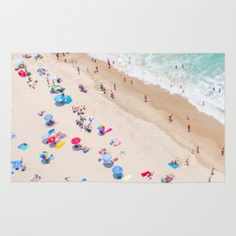 Colors of Manhattan Beach California Rug