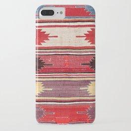 Nevsehir Cappadocian Central Anatolian Kilim Print iPhone Case