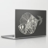 swallow Laptop & iPad Skins featuring Swallow Song by The Thinks