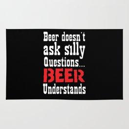 Beer Understands Rug