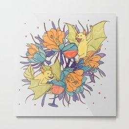 Party Bats daytime Metal Print