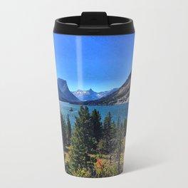 St. Mary Lake Travel Mug