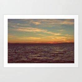 Sunset Wish Art Print
