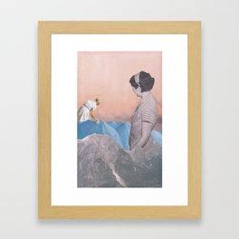 Like mother Framed Art Print