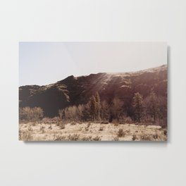 The High Desert Sun - Nature Photography Metal Print