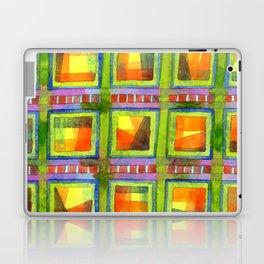 Light behind colorful geometric Windows Laptop & iPad Skin