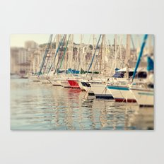 Marseille Harbor Canvas Print