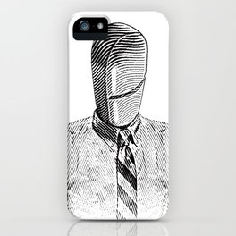 Pill Addict with Painkiller Head. iPhone Case